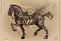 Inspiration sheet: Mechanical horse