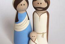 Nativity Art Dolls