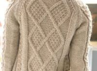 Knitting - Sweaters / Knitted sweaters both for adult and children