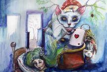 my Illustration watercolors / Moje ilustracje o różnej tematyce