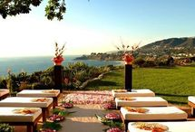 Outdoor Weddings / There's nothing like being outdoors, and an outside wedding and reception are wonderful!