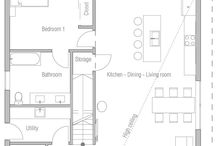 floor plan and house ideas