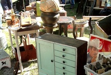 Thrift stores, Flea Markets, Yard Sale finds / by Toni Bartz