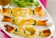 Entrées aux pommes / Découvrez plein de délicieuses recettes d'entrées aux pommes à réaliser chez vous !