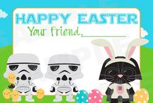 Star Wars Easter Cards