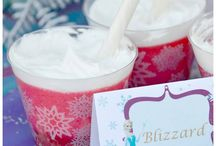 Frozen Themed Birthday Party Ideas via Kara's Party Ideas .com / Disney's Frozen themed birthday party ideas! All the frozen party ideas, frozen decorating ideas, frozen party food ideas, frozen party cake ideas, frozen invitation ideas, etc you could ever want! All on Kara's Party Ideas KarasPartyIdeas.com!  / by Kara's Party Ideas .com