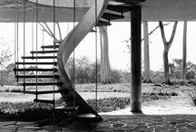 Oscar Niemeyer - stairs