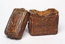Wax tablet cases (viasztábla tartók)