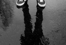 through a photo...