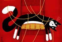 animal: cat & thread