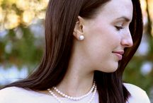 Pearls For Every Girl / Whether you are looking for the perfect earrings to match your white gown, jewelry to gift to your bridesmaids, or a necklace that will transition from engagement pictures to wedding day jewelry, pearls are the perfect option because they will never go out of style.  From the classic bride-to-be look to style with a modern edge, there is a Mikimoto pearl piece for you.
