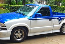 Chevy S10 Xtreme / Chevy S10 Xtreme Custom Paint