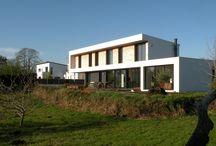 Maison - Sainte Marine (29) / Maison d'habitation - NOVEMBRE 2013 - MAITRISE D'OUVRAGE : PRIVÉE - SURFACE : 150m2 - MATÉRIAUX : Béton, Acier - MISSION COMPLÈTE