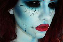 Halloween makeup ^_^