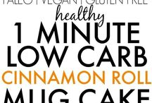 1 MINUTE LOW CARB CAKE