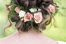 Kına düğün saç