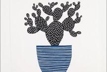 Lino Prints Illustration