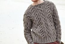 Menswear Knits / by The Web-sters