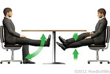 Business Workout / Keep off those extra pounds while sitting at the desk all day.