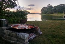 A Passion for Paella / I love making paella almost as much as I love fly fishing.  Here are some paellas I've cooked as well as others.