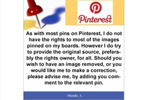Pinterest Copyright Clause / by Trinity Antiques