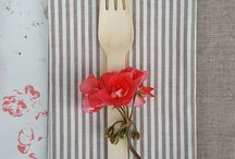 Eat N Mess - Table Setting / Luxury table linen & summer styling by bennettandbates