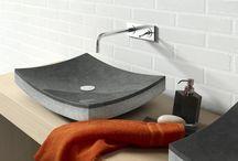 Umywalki kamienne / stone wash basins / Markowe umywalki kamienne