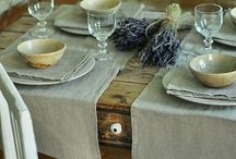 Linen table ideas