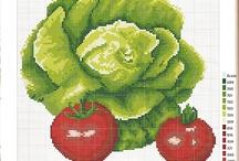 Potraviny - vyšívání