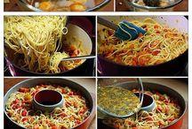 Gâteau spaghetti