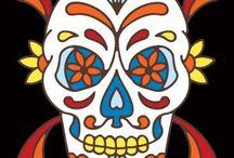 † Mexicain Skulls / Les cranes mexicains et la journée des morts