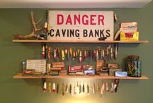 Ideas for displaying my vintage fishing gear