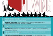 Rowing Infographics / Here are some of the best rowing infographics that will help demonstrate some of the benefits of rowing.