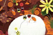 Frukt og insekt bok