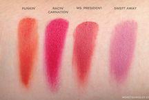 Limnit Lipsticks Swatches / by Luna Gray