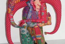 текстильная скульптура