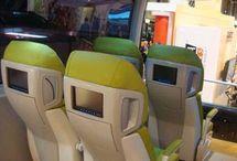 Machine-Car interior
