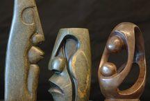 Skulpturen / Speckstein Skulpturen