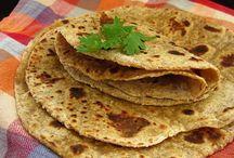 recepty z Indie - placky (indické i neindické)