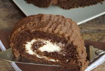 tronchetto al cioccolato di