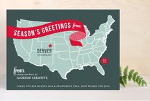Corporate Christmas Cards - nontraditional