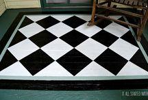 Painted Floors DIY
