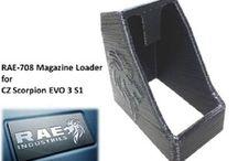 RAE-708 cz scorpion evo magazine loader / speedloader