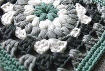 かぎ針編みのグラニースクエア