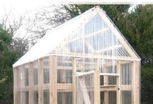 DIY Greenhouses / DIY greenhouse ideas and plans. Any backyard can have a greenhouse.