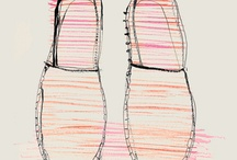 chaussures illustrations