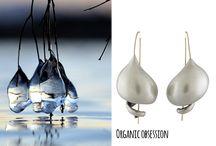 Bijoux organic / Bijoux inspirés de la nature aux formes organiques