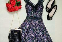 Vestido Godê - Rodados