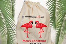 Personalized Christmas sacks