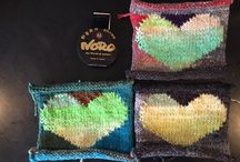 Noro Heart Blanket Knit Along / Knit along for Heart Blanket pattern in issue 5 of Noro Knitting Magazine / by Knitting Fever